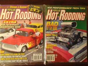 Four 90's Hot Rod Magazines Still In Wrapper's