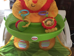 Fisher Price Lion Sit Me Up Baby Chair
