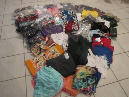 Clothing NEW Bulk Lot x 70 Assorted Items