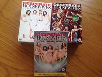 DVDs: Desperate Housewives seasons 1-3