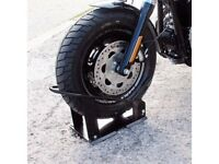 Motorcycle -scooter -scramble bike dock front wheel system £29.99