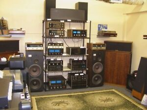 HIGH QUALITY HIFI STEREO AUDIO COMPONENTS TUBE AMPS ANY COND $$$