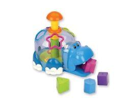 Wishtime Hippo Shape Sorter toddler block activity toy and MnS shapesorter