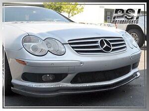 CS Type Carbon Fiber Front Bumper Lip for 2003-2006 Mercedez-Benz R230 SL55 AMG