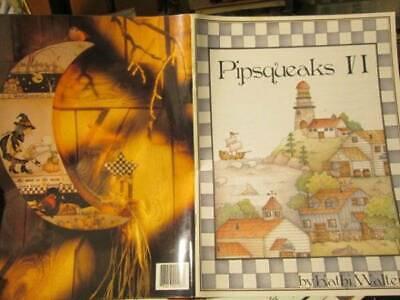 Pipsqueaks Painting Book #6 (VI)-Walters-Northwest American Scene/Halloween Moon ()