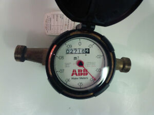 "ABB Water Meter C700 3/4"" Positive Displacement Cold Water Meter"