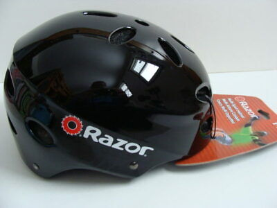 NWT RAZOR Youth Adult Helmet 14+ Yrs Multi-Sport Black Skateboarding Bike NEW