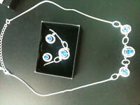 BRAND NEW in box - Sept. 3 piece gift set - Sapphire