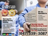 TRUSTED OAKVILLE MOVING SERVICE - Get Extra $25 Off -A2B MOVERS