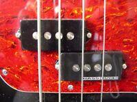 ZOOT Super-P custom-built boutique premium bass guitar