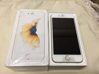 APPLE I PHONE 6S PLUS 64GB ***NEW** WHITE AND GOLD WITH APPLE WARRANTY
