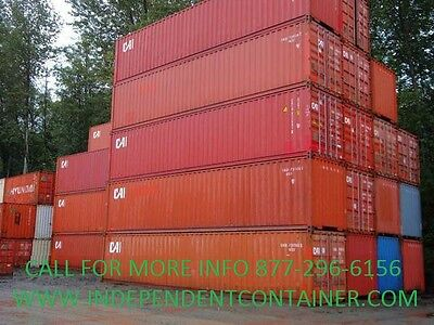 40 High Cube Cargo Container Shipping Container Storage Unit In Seattle Wa