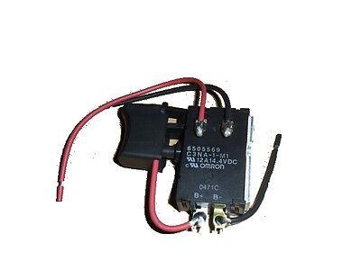 Makita Switch For Drill 6260d 6270d 6280d 8270d 8280d 9.6v Schalter 650556-9