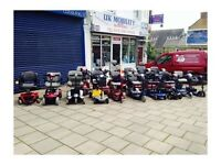 Mobility Scooters - Over 20 used quality Scooters in Stock plus Wheelchairs