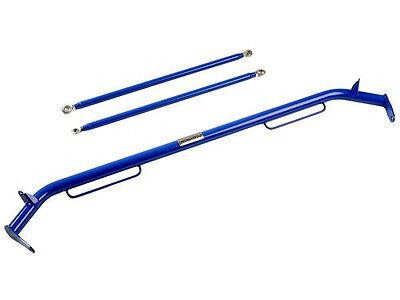 "NRG Universal (Seat Belt) Harness Bar 47"" Long (BLUE)"