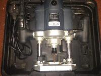 Router 1500 watt Wickes Router in Black Case