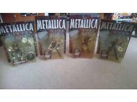 Metallica Collectible Figures