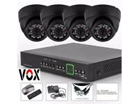 DISCOUNT CCTV *** SONY 4 CAMERAS FULL HD 1080p WITH NIGHT VISION AND VANDAL PROOF FULLY INSTALLED