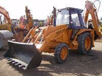 *WANTED* Rubber Tyre Digger (Case/JCB/Ford/New Holland)