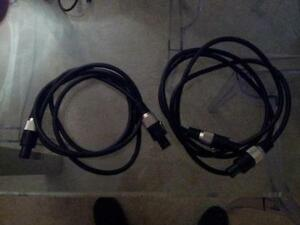 Gallien Krueger 4 conductor speakon bi-amp cable