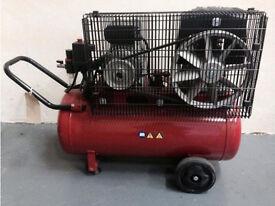 NEW Clarke Racer 9/50P - 2hp 50 Litre Belt Driven Air Compressor 230 Volt