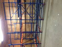 Pallet rack and commercial shelving