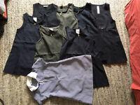 8 School dresses pinafores (age 4-5)
