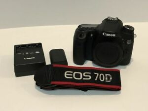 Canon EOS 70 D with Battery + Charger