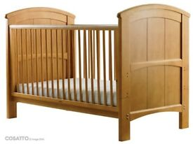 COSATTO HOGARTH 3 IN 1 COT BED AND MATCHING TALLBOY