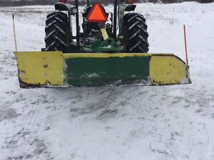 John Deere 8 foot scraper blade $375