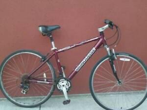 """Aluminum frame hybrid bicycle 17"""""""