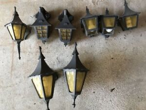 Outdoor light fixtures for sale-used