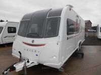 2015 BAILEY UNICORN CARTAGENA TRANSVERSE ISLAND BED * AS NEW * JUST IN * MOST DESIREABLE LAYOUT **