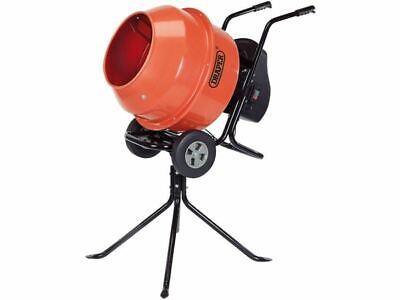 Draper 17776 160L Drum Portable Electric Concrete Mortar Cement Mixer 650w 240v