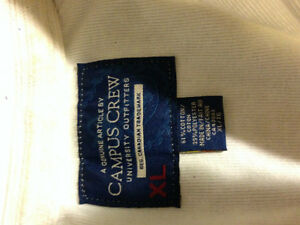 Campus Crew Crew-neck Henley Size XL London Ontario image 5