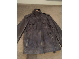 Mens Superdry Leather Jacket