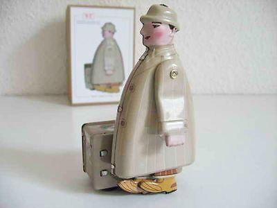 Blechspielzeug - Mann mit Koffer - Messemann mit Hut 1180472