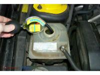 Free Battery and Antifreeze check Jump start