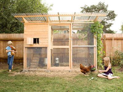 Backyard Chicken Coop Plans The Garden Coop Plan Ebook On Usb Flash Drive