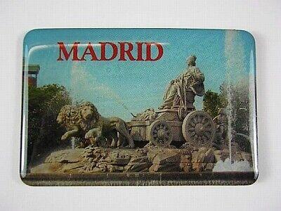 Madrid Magnet Plaza de Cibeles Spanien Souvenir,Kühlschrankmagnet (Magnet Madrid)