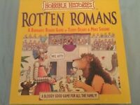Horrible Histories Rotten Romans Board Game - like new