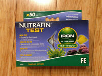 NEW Nutrafin Iron Test Kit for Planted Aquariums