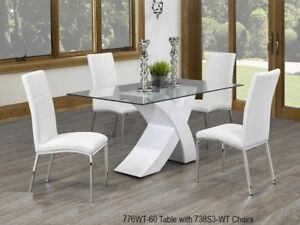 ELEGANT, IN STYLE, GORGEOUS Dinette Collection