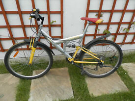 Dual Suspension Alloy Frame Bicycle