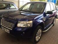 2010 Land Rover Freelander 2.2 TD4 HSE 4X4 5dr Diesel blue Automatic