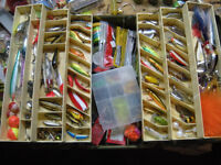 huge 6 tray tackle box full of tackle fishing lures gear