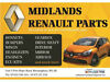 BREAKING ALL RENAULTS ALL PARTS ARE AVAILABLE AND IN STOCK Redditch
