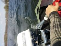70's Evinrude 6hp outboard