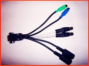 Breakout Cable for M-Audio Profire 2626 digital Interface MIDI SPDIF WORDCLOCK