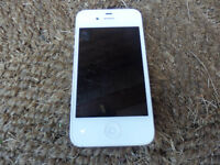 Apple Iphone 4s Bell 16GB  White good condition.